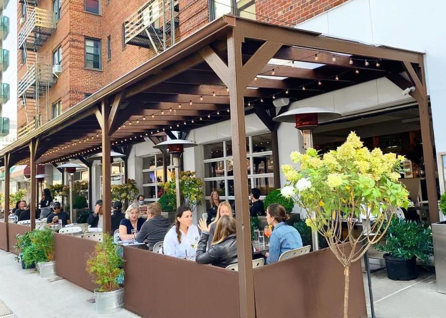 Cafeteria, restaurante em Chelsea, em Nova York