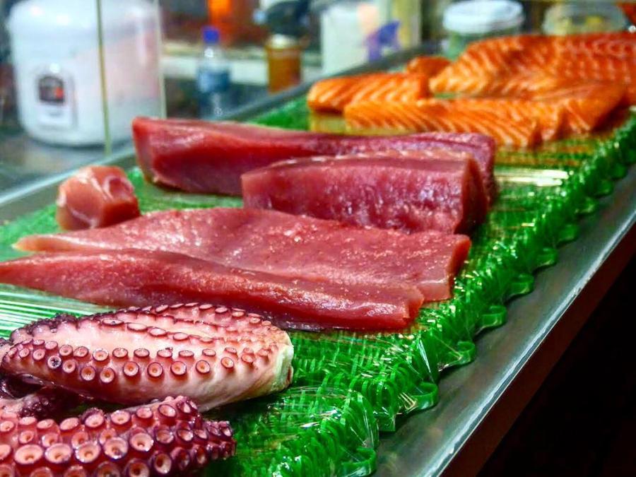 Peixes do Manaka Sushi Noronha