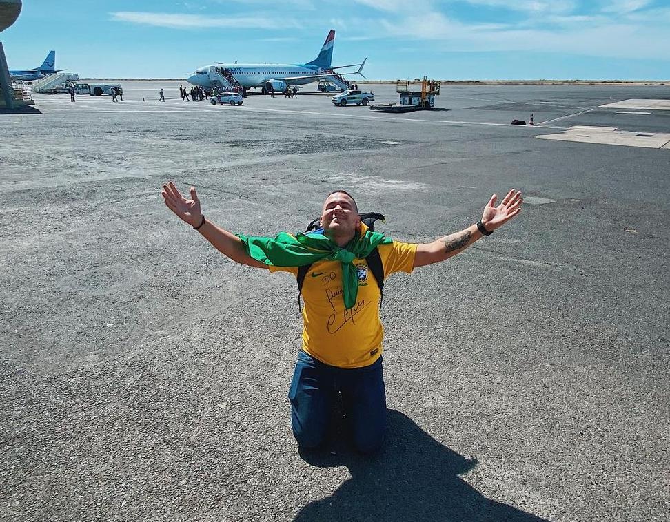 Anderson Dias em Cabo Verde