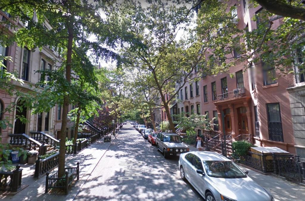 Rua do apartamento de Carrie em Sex and the City