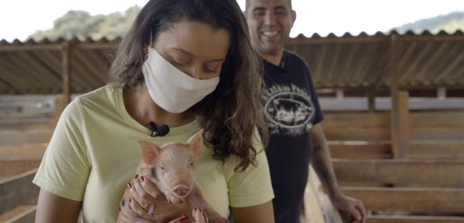 Casal Rueda saúda alimentos brasileiros em sua premiada culinária