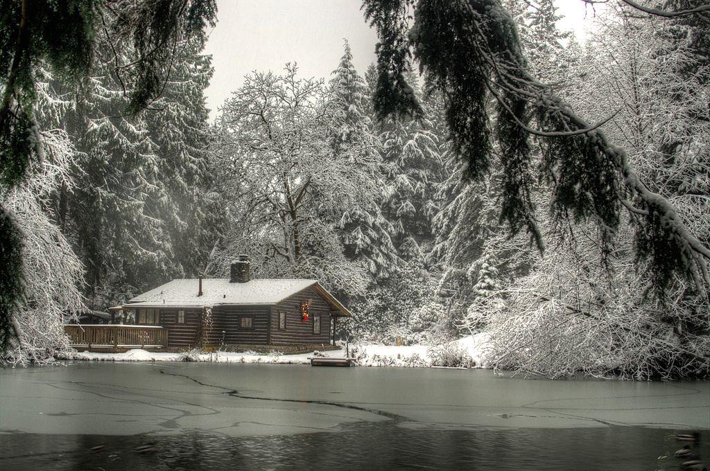 Casa do zelador no Murdo Frazer Park, cenário de Virgin River