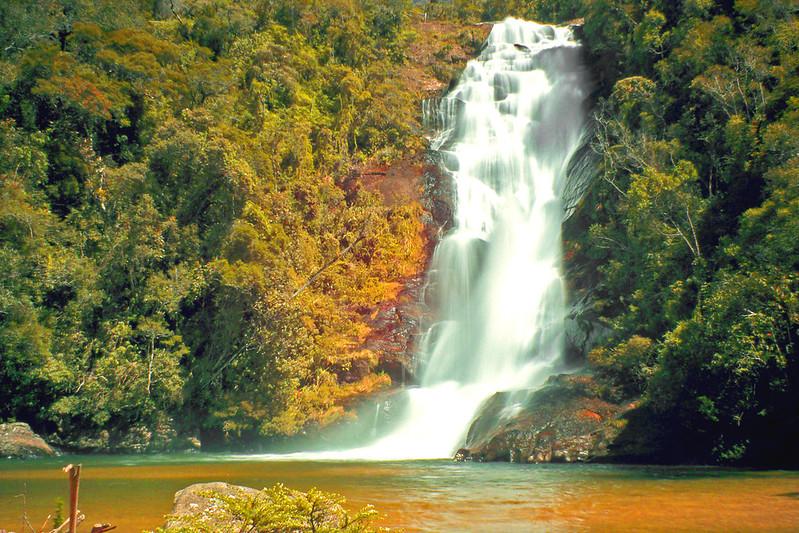 Cachoeira do Santo Isidro no Parque Nacional da Serra da Bocaina