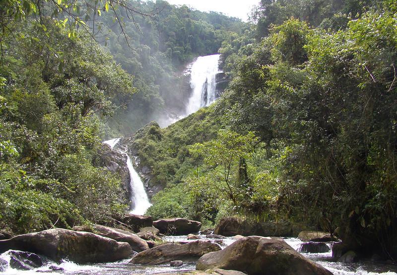 Cachoeira dos Veados no Parque Nacional da Serra da Bocaina