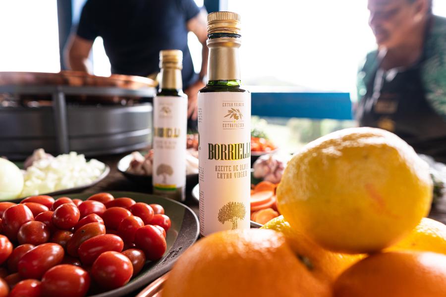 Azeite de oliva Extravirgem Borriello