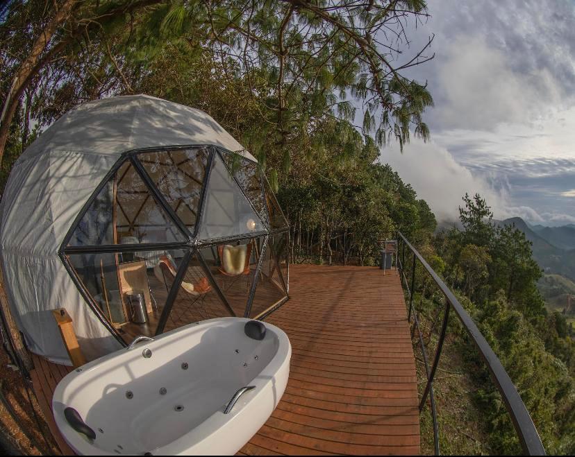 Domo Nomad Place, em São Bento do Sapucaí