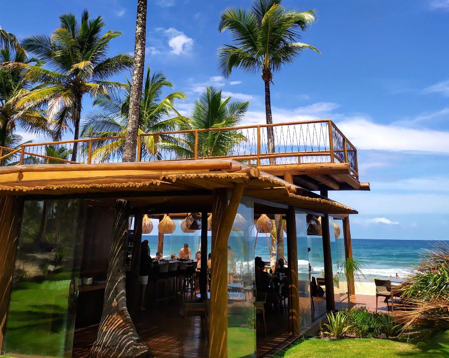 Restaurante Villa Kandui em Maraú