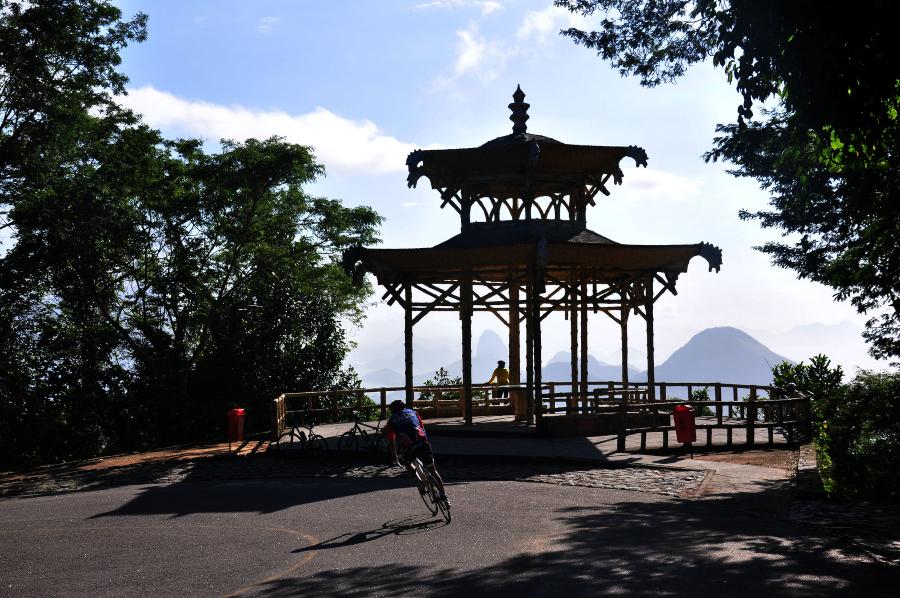 Mirante Vista Chinesa Rio de Janeiro Parque Nacional da Tijuca