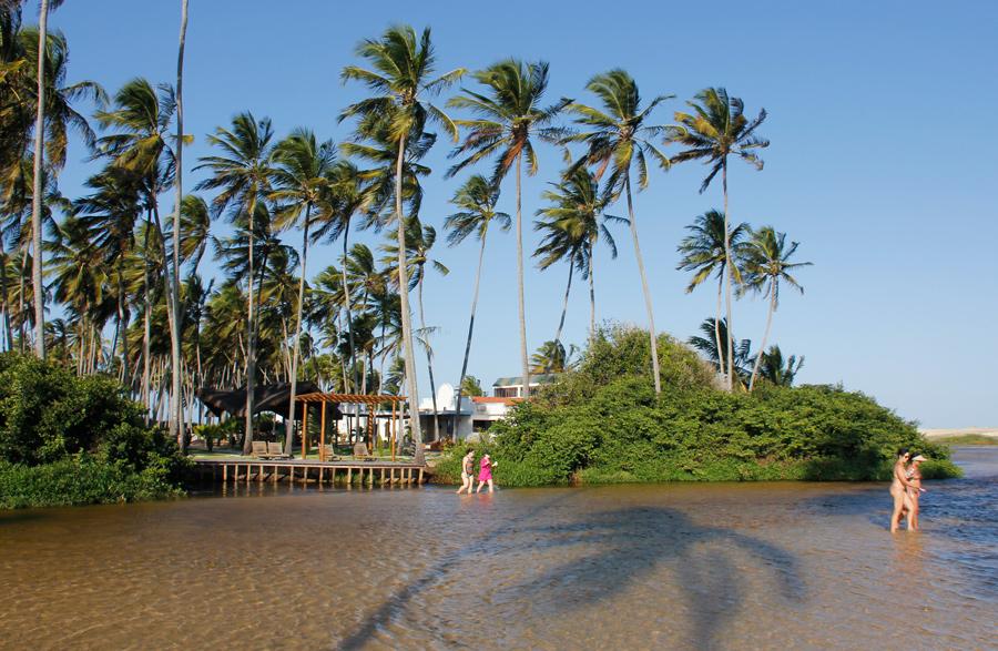 Barra de Punaú, em Natal