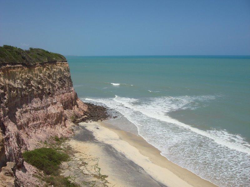 Falésia na Praia de Pipa