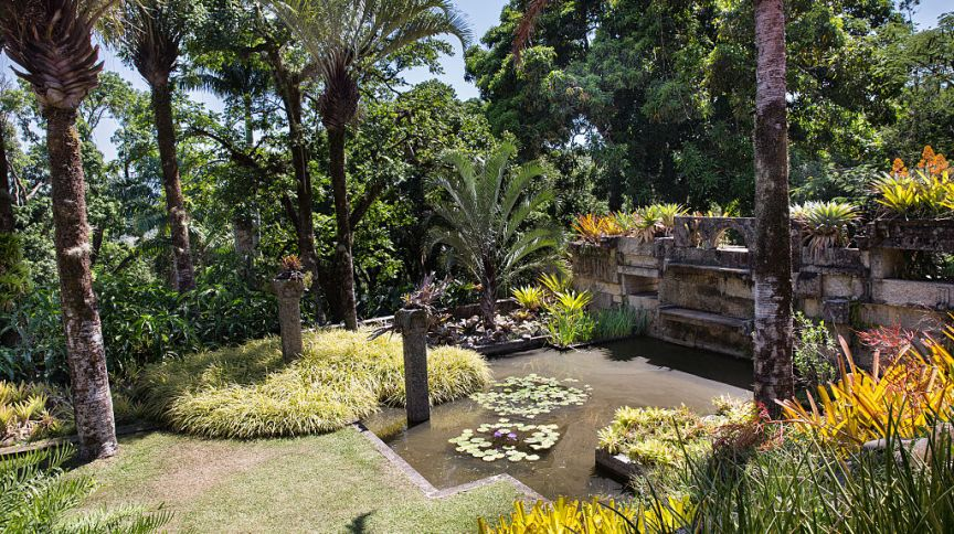 El Sitio, By Burle Marx Roberto Burle Marx was famous landscape architect known in all the world . This place is his residence and the Garden were he collected plants. Very interesting to visit near Rio de Janeiro!
