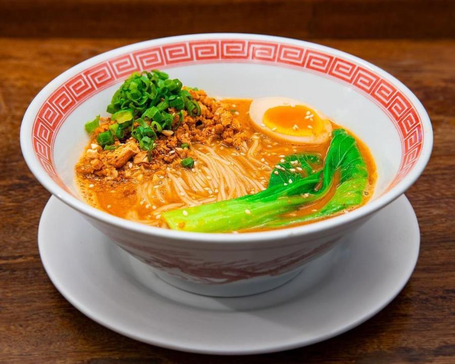 Spicy Tantan do Tonkotsu Barikote RAMEN MARU