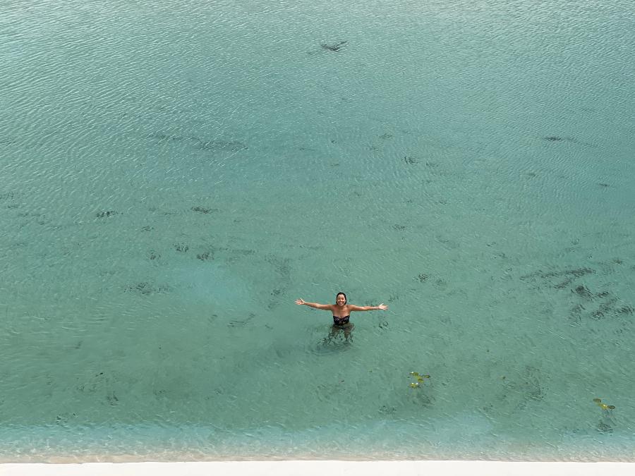lagoa esmeralda barreirinhas lencois