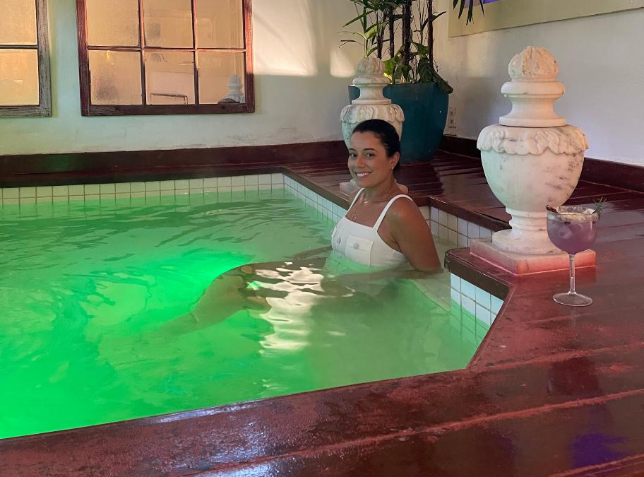 piscina interna aquecida fazenda sao luiz da boa sorte