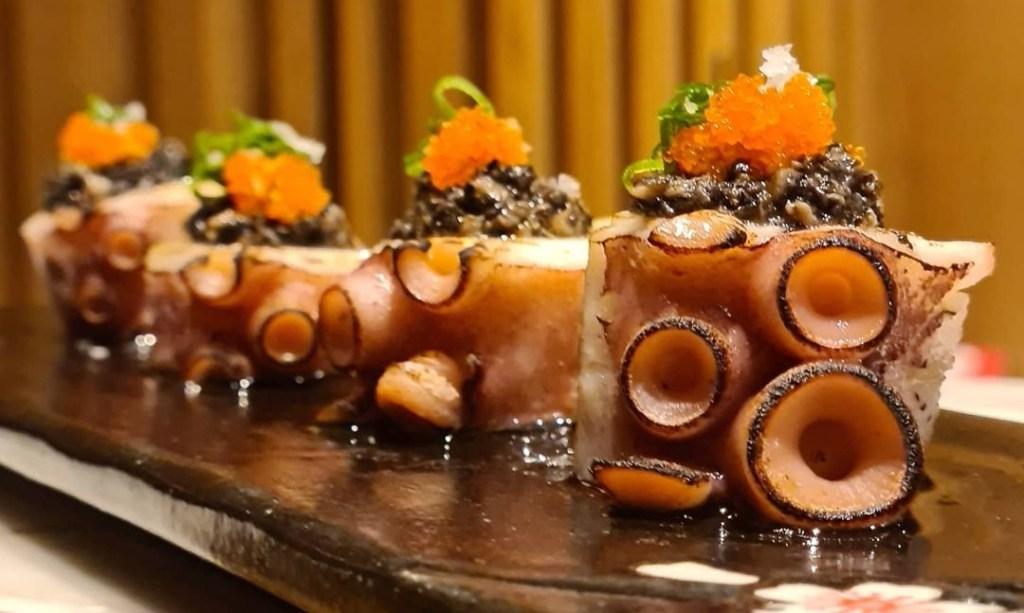 AIZU Sashimi Especial de Polvo Trufado