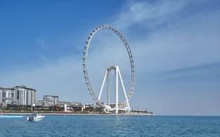 Atração chamada de Ain Dubai fica em ilha artificial da cidade e tem previsão de abertura para 21 de outubro