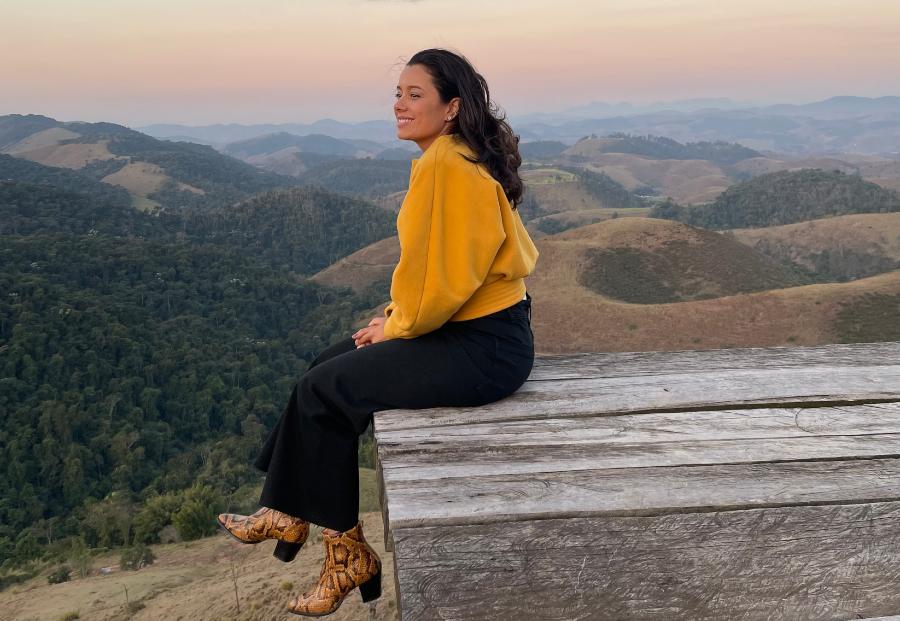 Daniela Filomeno deck fazenda Allianca