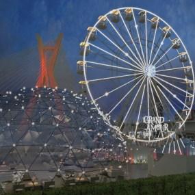 Roda-gigante em São Paulo terá jantar com espetáculo e vista para Ponte Estaiada