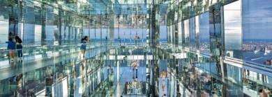 NY do alto: cidade ganha observatório de vidro a mais de 300 metros do chão