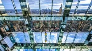 NY do alto: cidade ganha novo observatório de vidro a mais 300 metros do chão