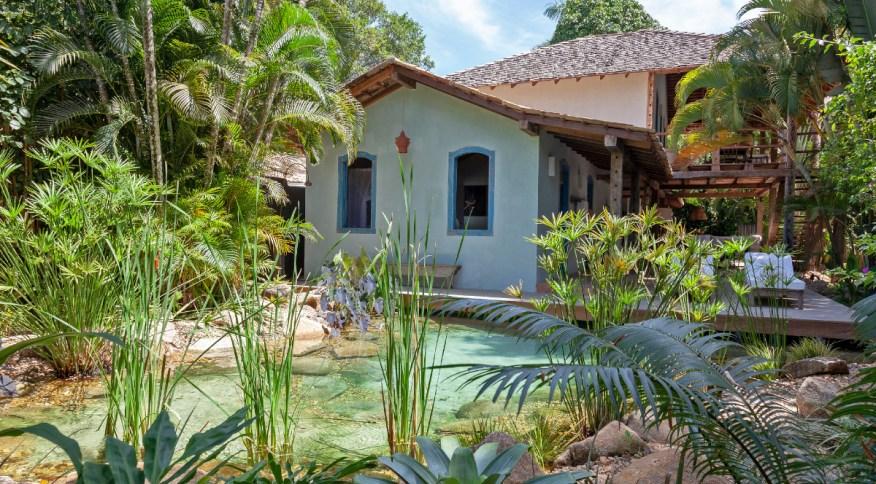 Casa do Lago, uma das 13 casas privativas e exclusivas do UXUA Casa Hotel & Spa em Trancoso, na Bahia