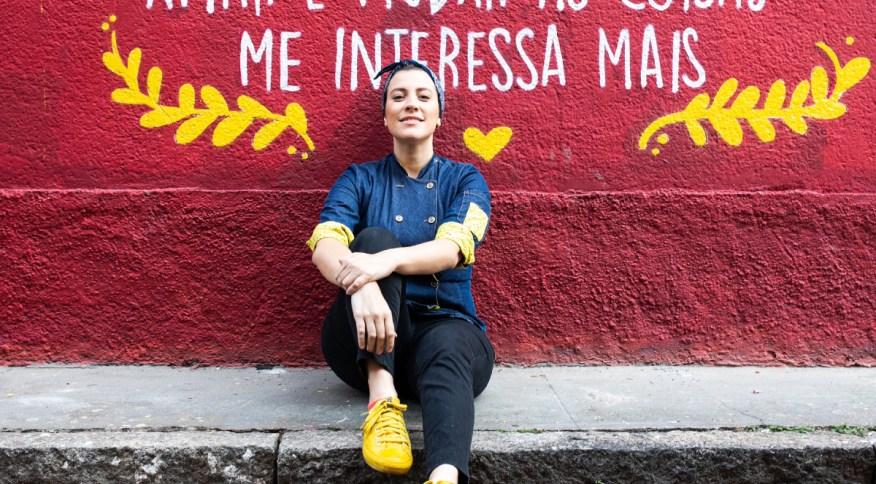 A chef Mariana Pelozio, que está à frente do Duas Terezas, na Alameda Lorena, em SP