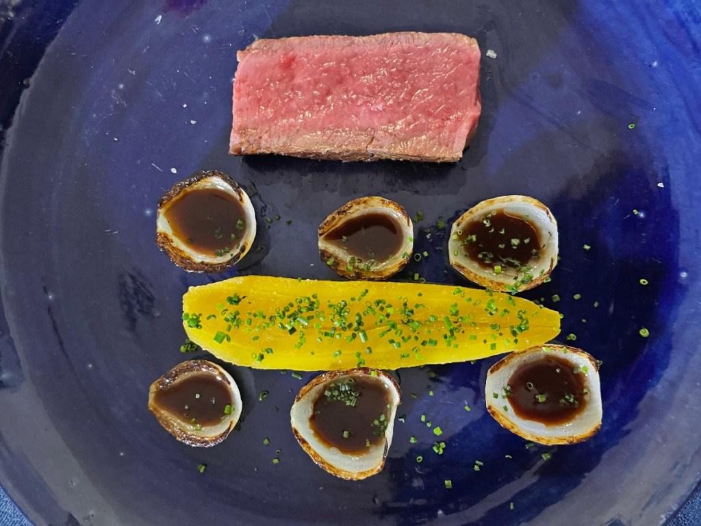 jantar secreto prato principal