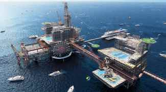 Arábia Saudita vai inaugurar parque de diversões sobre plataforma de petróleo